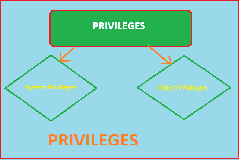 privilege in s ql