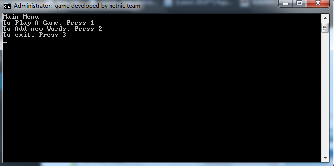 make a game in notepad