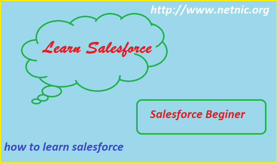 how to learn salesforce